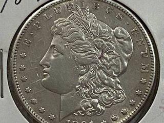 1891 S  1 Morgan Silver Dollar   Very Collectible