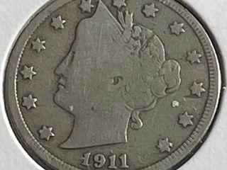 1911 liberty Head V Nickel