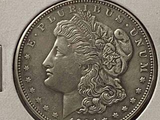1921 D  1 Morgan Silver Dollar   Very Collectible