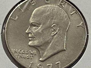 1977 Eisenhower One Dollar Coin