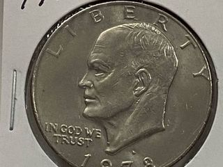 1978 D Eisenhower One Dollar Coin