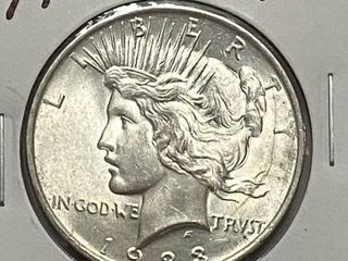 1923 S Peace Silver Dollar   Very Collectible