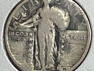 1929 liberty Silver Quarter Dollar