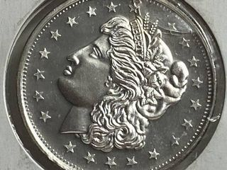 liberty   1 Troy Ounce Fine Silver Coin