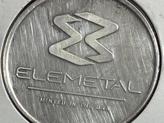 Elemetal   1 Troy Ounce Fine Silver Coin