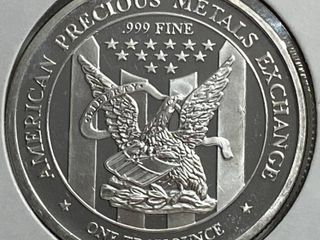 Apmex   1 Troy Ounce Fine Silver Coin