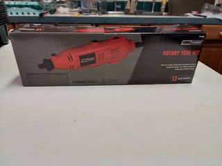 Tool Shop Rotary Tool Kit   10   35k Rpm With 12 Pc Accessories
