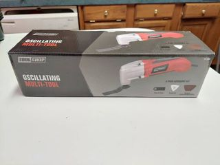 Tool Shop 1 6 amp Corded Oscillating Multi tool