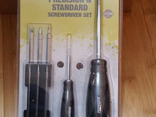 10 pc  precision and standard screwdriver set