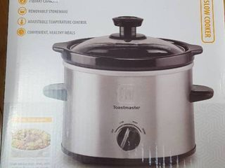 Toastmaster 2 qt slow cooker