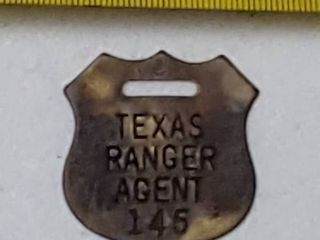 luggage fob  Texas Ranger agent