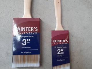 2  Painter s Collection 100  Polyester Paint Brushes   2  and 3