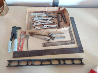Assorted Tools   Wrenches  Squares