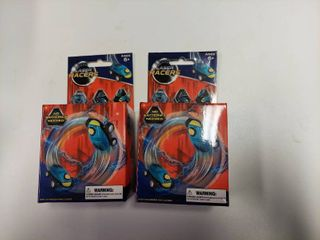 2 laser Racers Blue Stuntball With Usb Charger No Batteries Needed