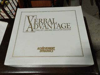 Achievement Dynamics Verbal Advantage Complete Tape Set    English language Skills For Success