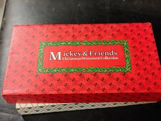 Walt Disney Mickey   Friends Christmas Ornament Collection   11 Ornaments Total   In Original Boxes
