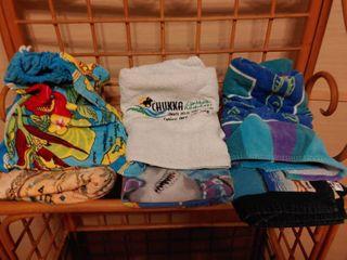 lot of 6 Beach Towels