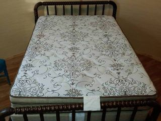 Queen Size Mattress  Box Spring  and Bed Frame