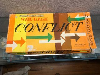 Vintage Conflict War Game 1960 s   Parker Brothers   Original Box
