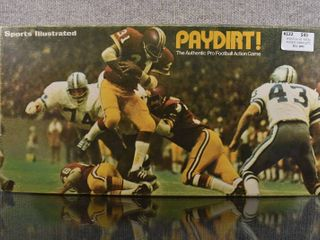 Vintage Paydirt Pro Football Action Game Complete 1973   Sports Illustrated   Original Box   Instructions