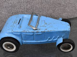 Vintage Buddy l Blue Hot Rod Roadster   Buddy l   Steel   9