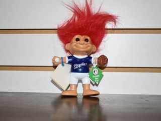 Vintage Royals Bendable Troll   Russ   5  Tall