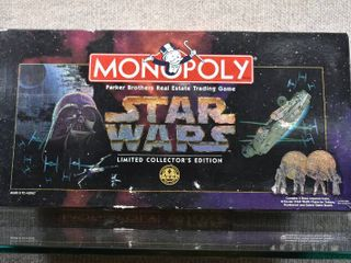 Vintage Star Wars limited Edition Monopoly Game NIB   Parker Brothers   Sealed Games Pieces