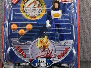 Vintage Dragon Ball Z Figure w Original Box Teen Trunks   Irwin Toy Co