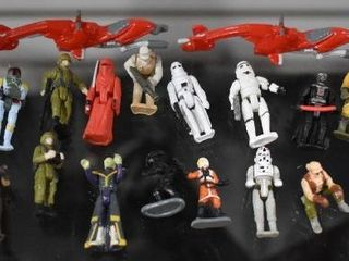 Vintage lot of 22 Star Wars Micro Collection Action Figures 1982   Kenner Toy Company