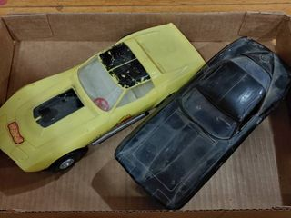 Vintage lot of 2 Camaro  Headache  Toy Cars   9  long