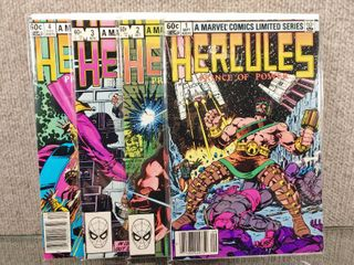 Vintage Complete Set of 4 Issues Series Hercules Prince of Power  1   Marvel