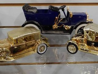 Vintage lot of 3 For Model T 1925  Chrysler lebaron   Crank Model T   Metal   Plastic