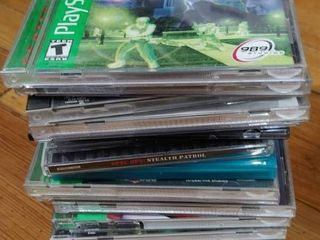 lot of 16 PlayStation Games   Kiss Pinball  Judge Dredd  Syphon Filter  Monsters etc
