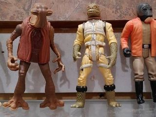 Vintage lot of 5 Star Wars Figures Bounty Hunters 1997   Kenner   4