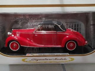 Vintage Signature Models 1950 Mercedes Benz 170S Cabriolet   limited Edition