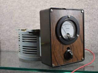 Simpson Amperes Alternating Current   Power Stat   Superior Electric Company   Not Tested