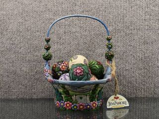 2007 Heartwood Creek Creekspring Basket 4009235   Jim Shore   Complete Set