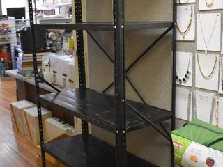 Metal Storage Shelf   5 Shelves Total   35  x 71    lOCAl PICKUP ONlY