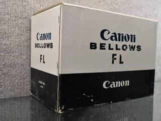 Vintage NIP Canon Bellows Fl For Macro Photography   Canon like New    w Box   Instructions