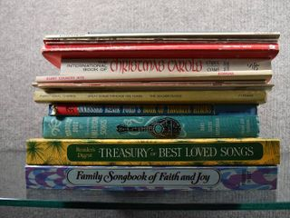Vintage lot of 20 Sheet Music   Song Books Hard   Soft Back