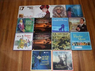 Vintage lot of 14  lP s Barbara Streisand  Mandrell  Foggy River Boys etc   Various Artists   In Album covers