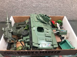 Vintage lot Hasbro Gi Joe Toys   Guns  Vehicles   Accessories   1983
