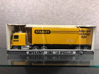 Vintage NIB Stanley GMC 18 Wheeler   Nylint   Made of Steel   20