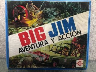 Vintage Big Jim Adventure Action Toy Carrying Case 1970 s   Conost   12
