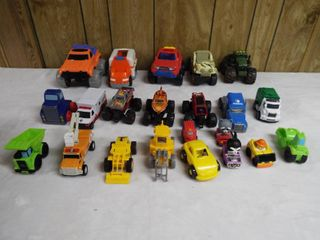 lot with various type s of toy car s and truck s