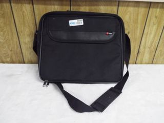 Black icon computer bag