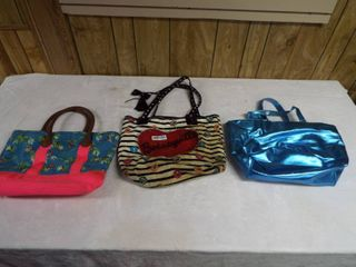 lot of 3 tote bag s