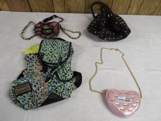 lot of various type s and size s of purse s