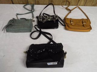 lot of 4 small purse s