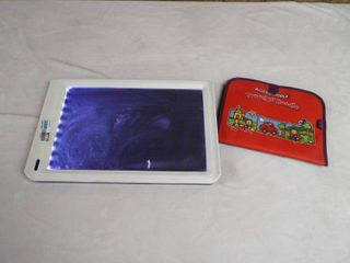 AquaDoodle travel N  Doodle pad and a Crayola sketch pad